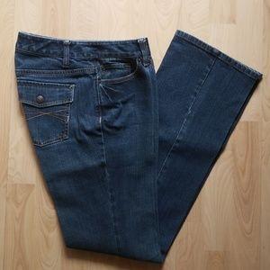 Ann Taylor Loft Boot Jean's